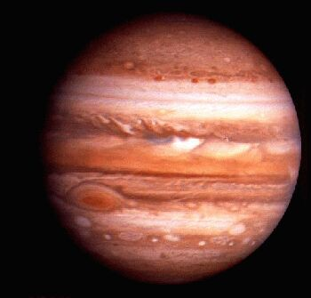Jupiter'-s Great Red Spot: A Swirling Mystery